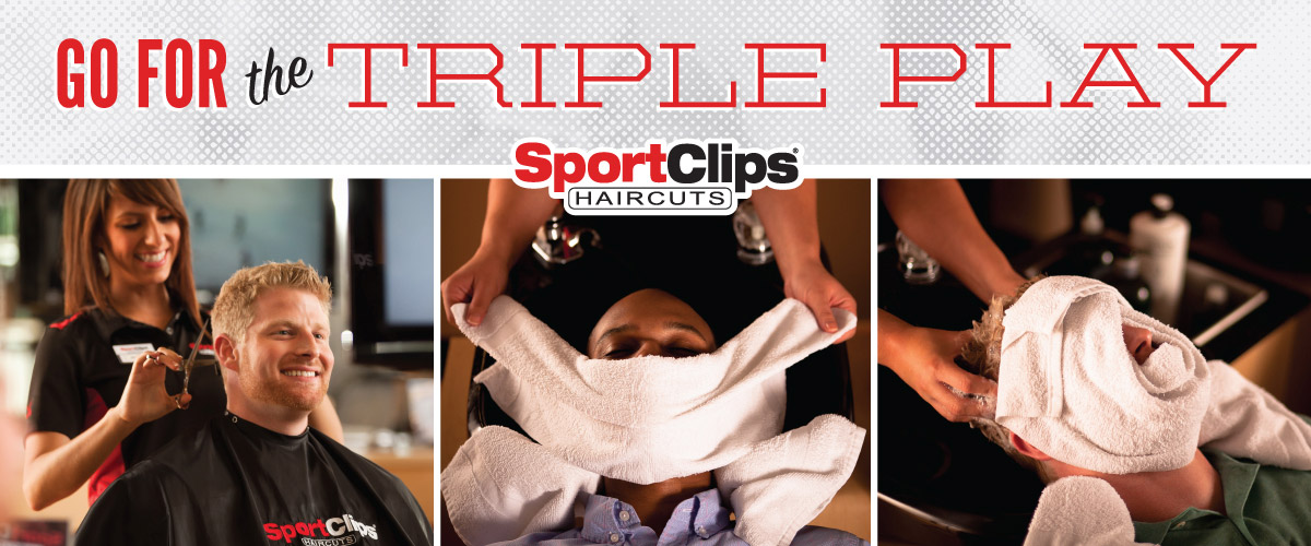 The Sport Clips Haircuts of Abilene Triple Play