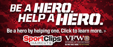 Sport Clips Haircuts of Abilene​ Help a Hero Campaign